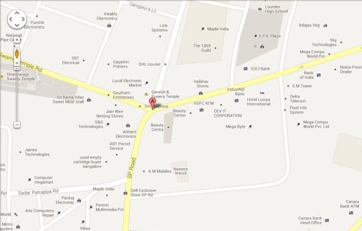 D-link service center location, Bangalore